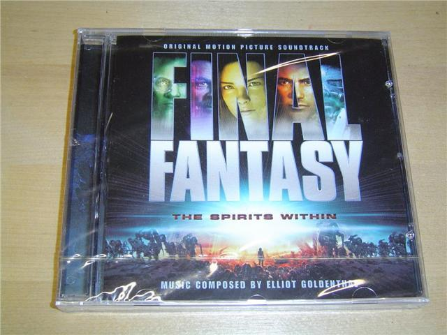 FINAL FANTASY SPIRITS WITHIN ORIGINAL SOUNDTRACK MUSIK NYTT