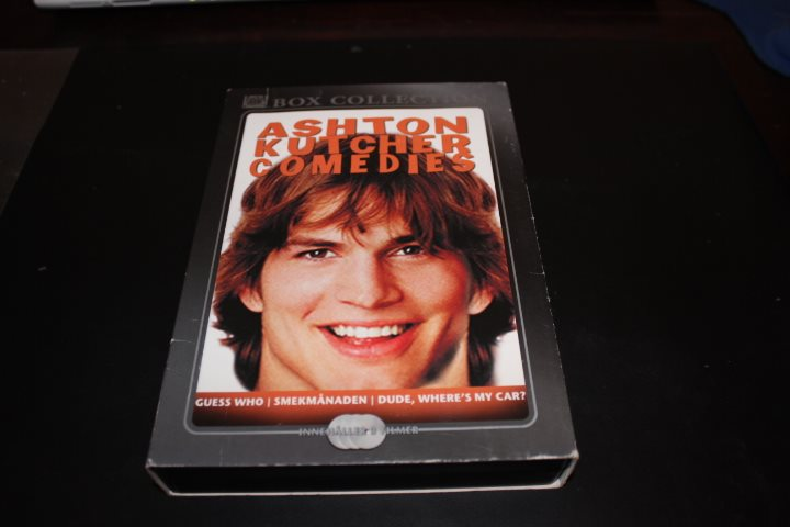 Dvd-box: Ashton Kutcher comedies - 3 filmer