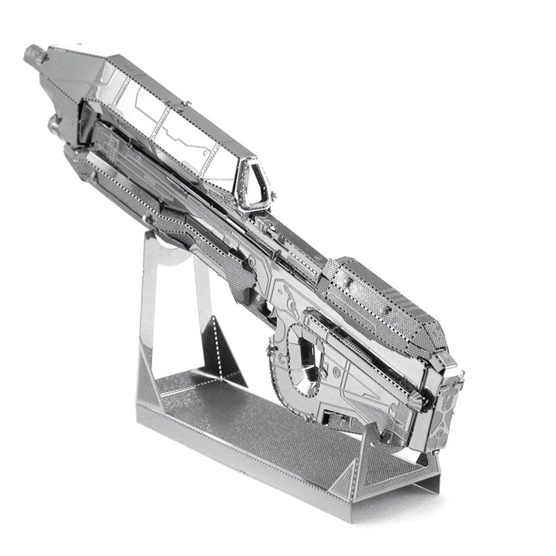 3D Pussel Metall - HALO - assault rifle