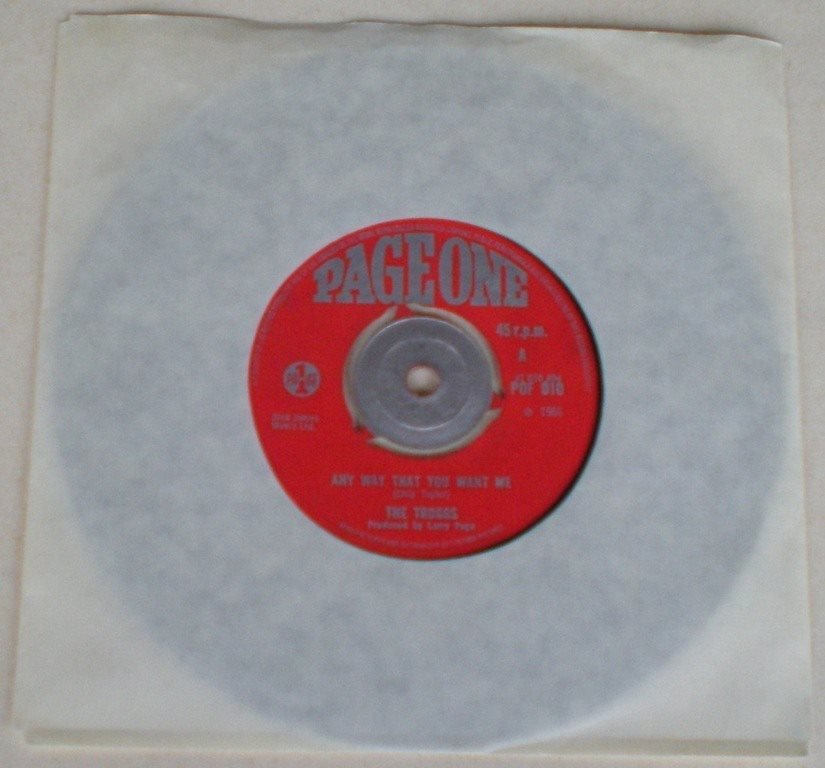 Troggs 45a Any way that you want me UK 1966