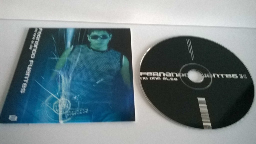 Fernando Fuentes - No one else, single CD