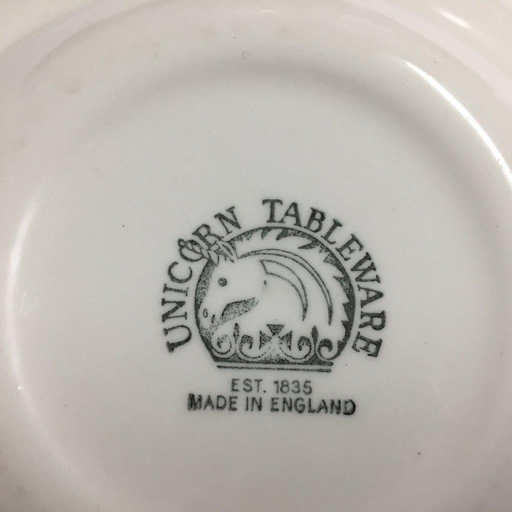 prev & Woodland Unicorn Tableware Eng.. (304618726) ? hobbyochfynd på Tradera