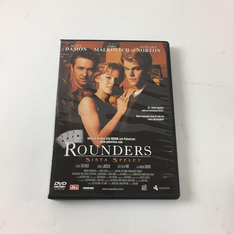 2e292271dc9 DVD Video, DVD-Film, Rounders (339617810) ᐈ Sellpy på Tradera