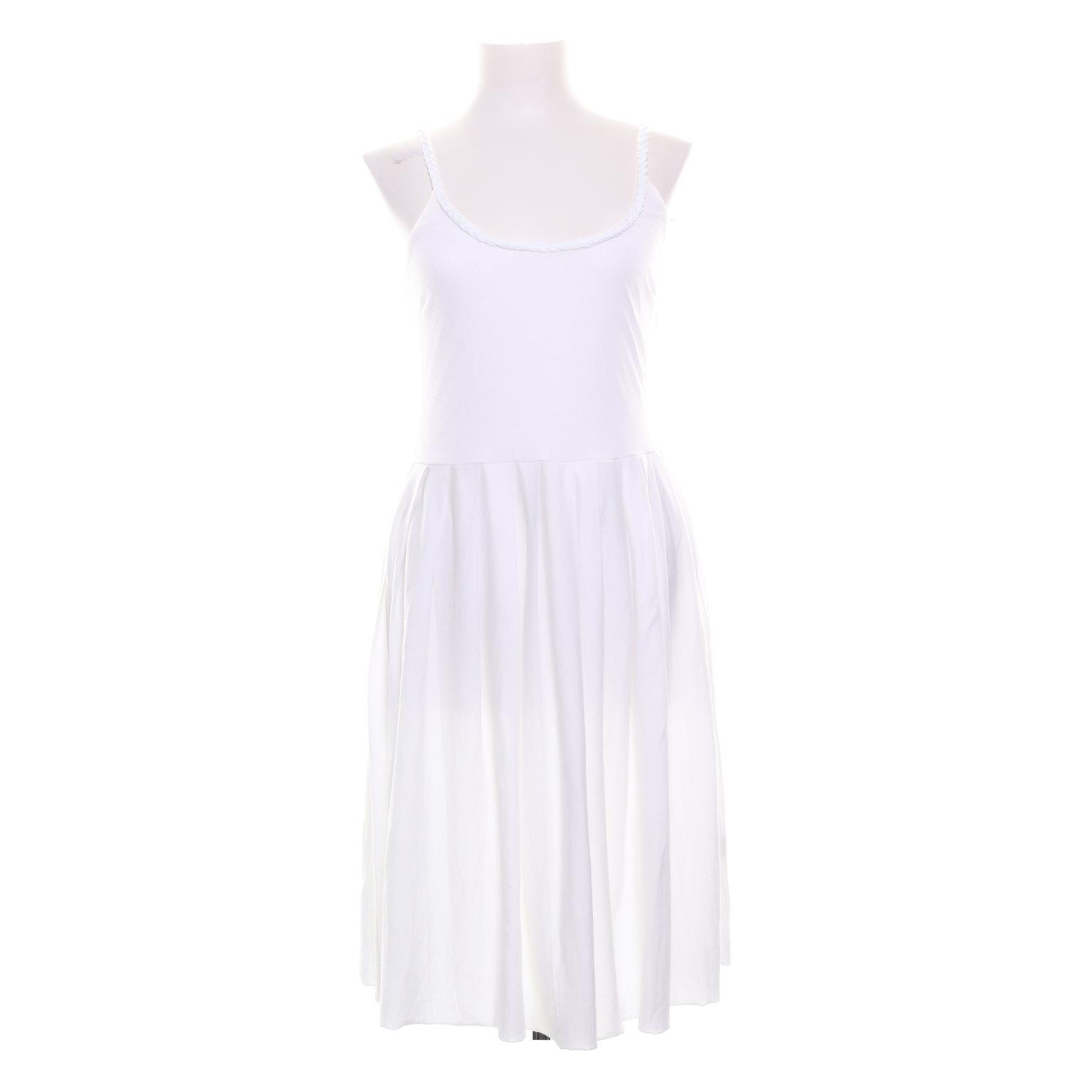 gant vit klänning