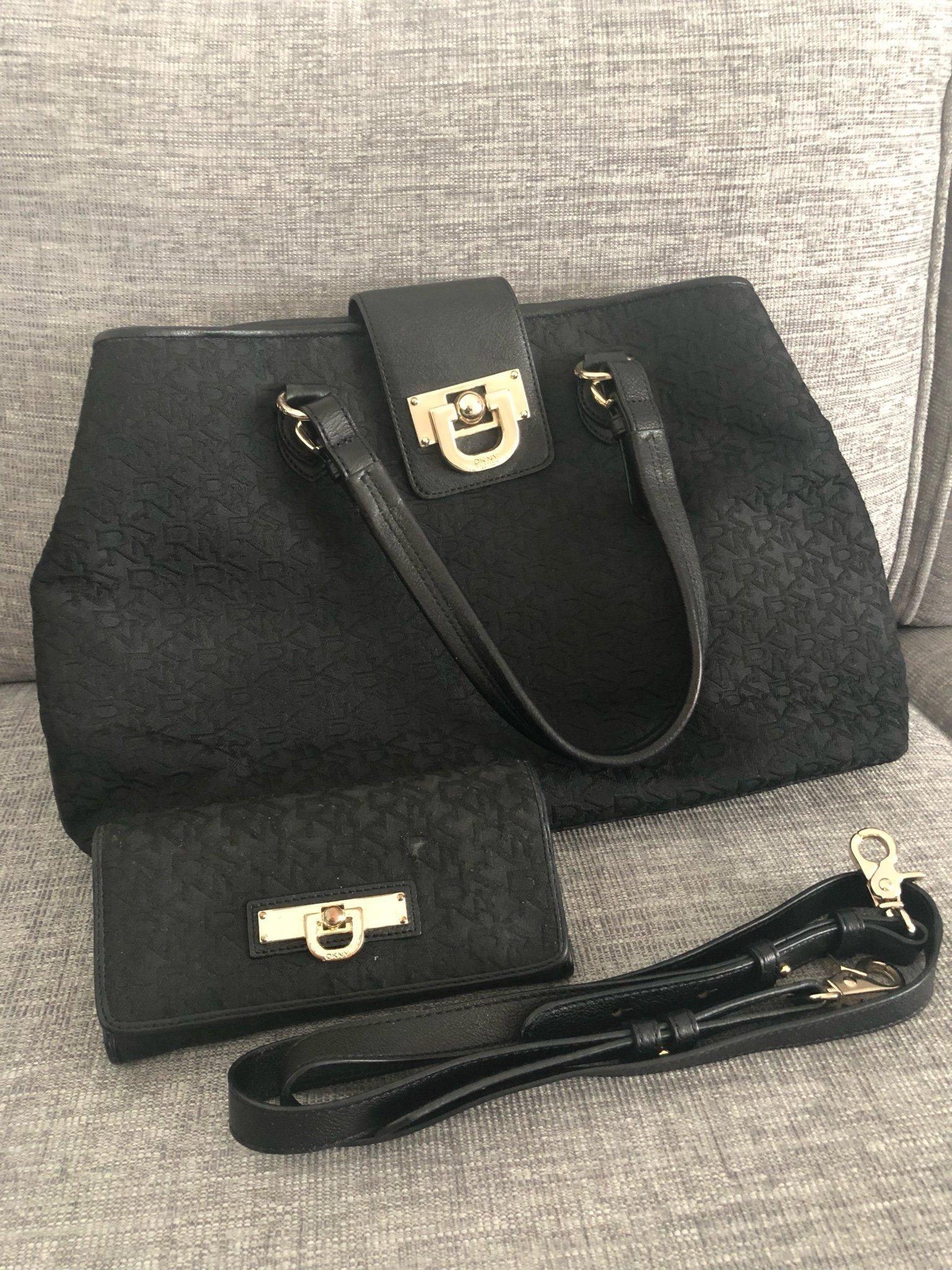 DKNY väska och plånbok (344250341) ᐈ Köp på Tradera
