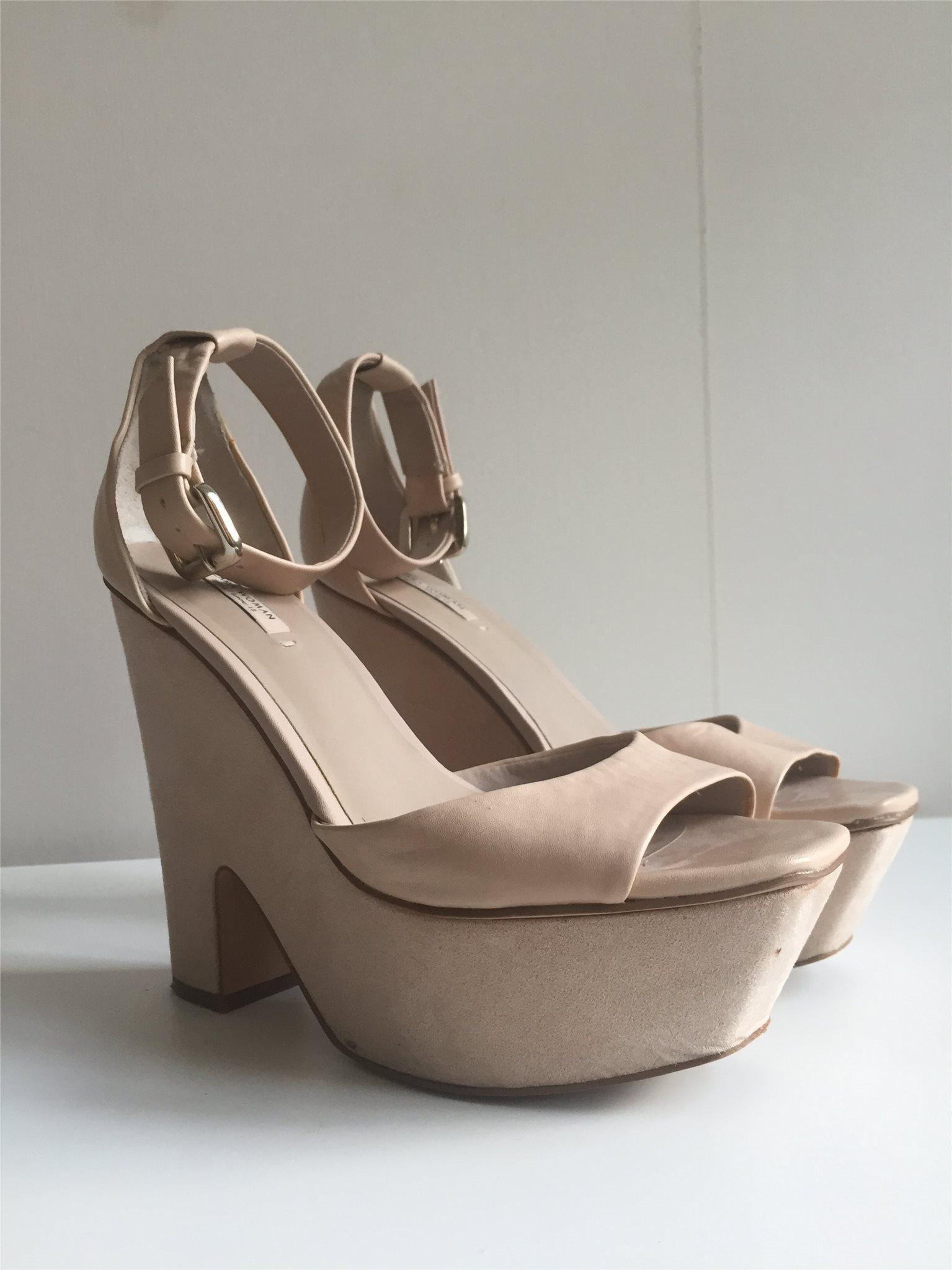 5e25462576f Klackskor, Zara Woman, Rosa, 39 (334868414) ᐈ Köp på Tradera