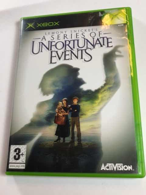 Lemony Snickets - A series of unfortunate events  - Komplett - Xbox - Svensksålt