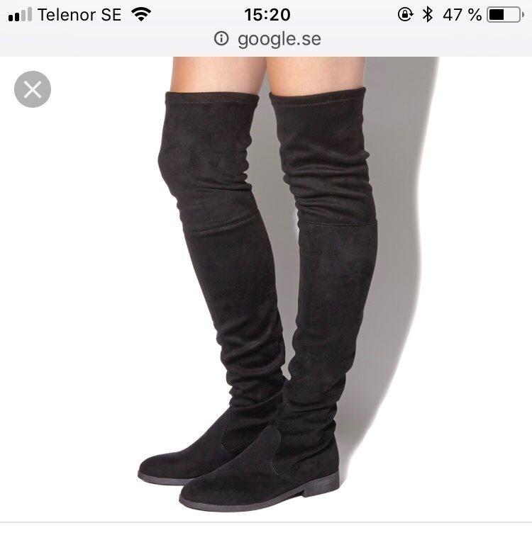 overknee boots mocka