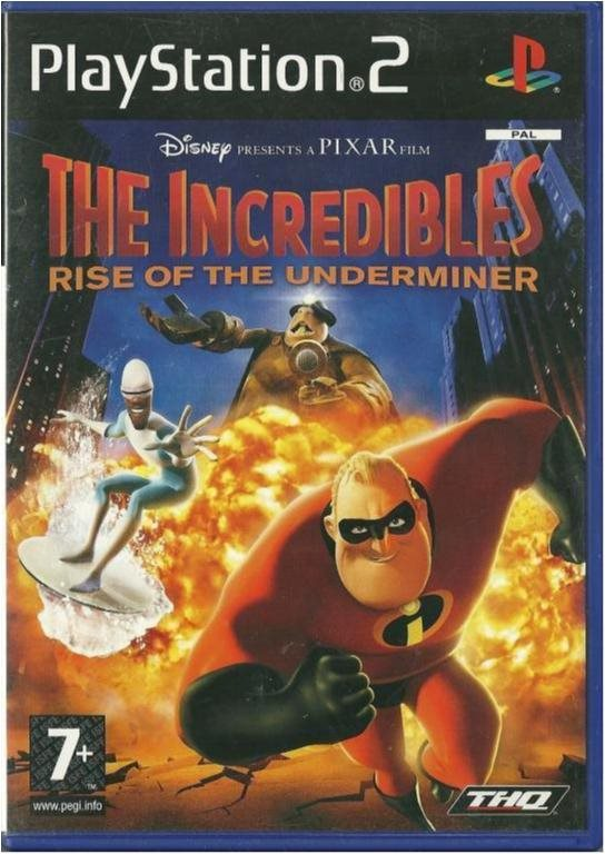 The Incredibles - Rise of the Underminer - Komplett