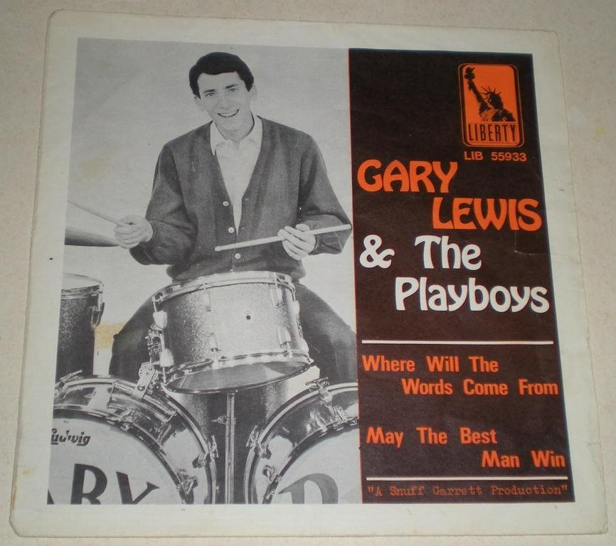 Gary Lewis & Playboys SINGELOMSLAG Where will the words..