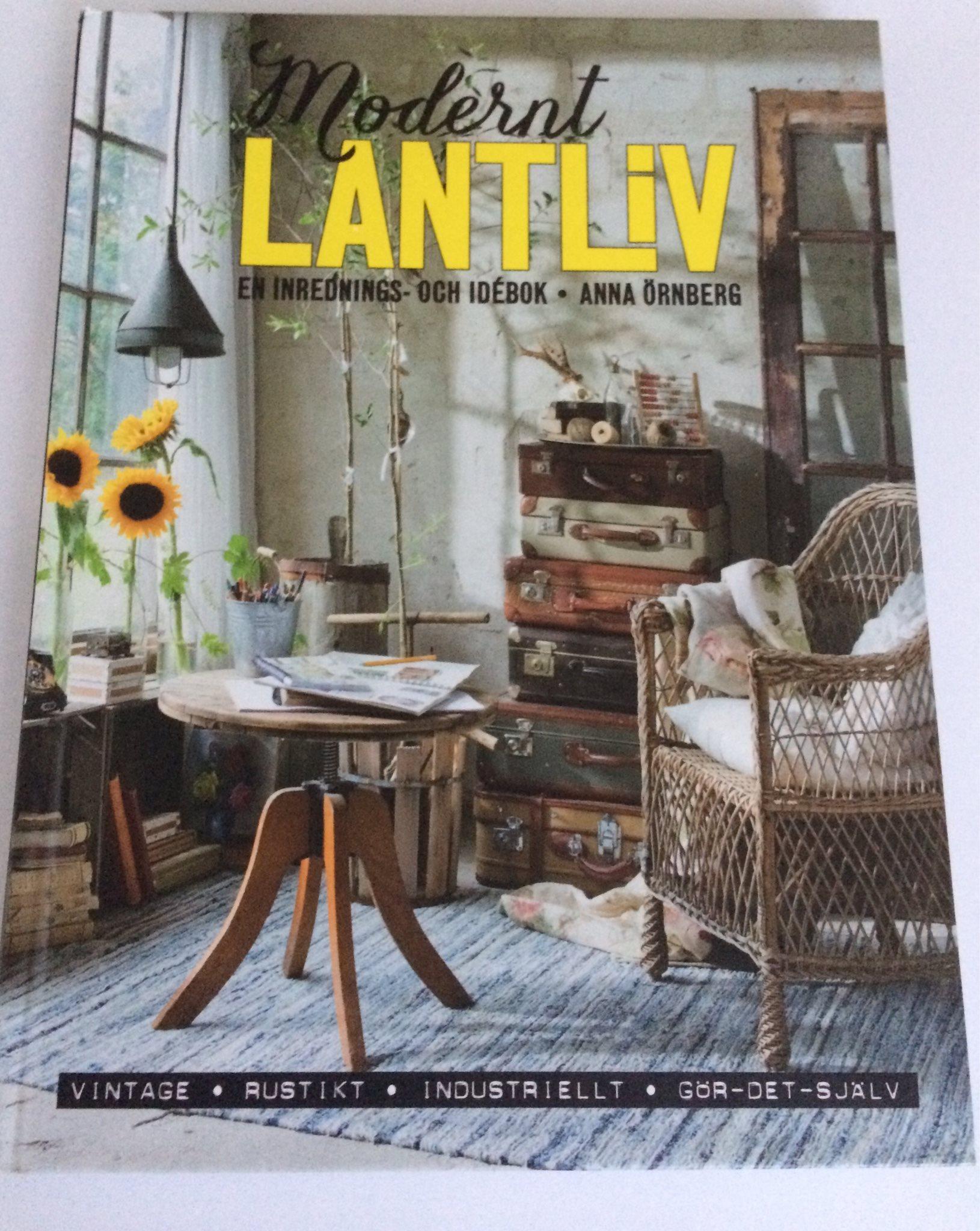 Bok, Modernt Lantliv Inredning Anna Örnberg, fint skick. på ...