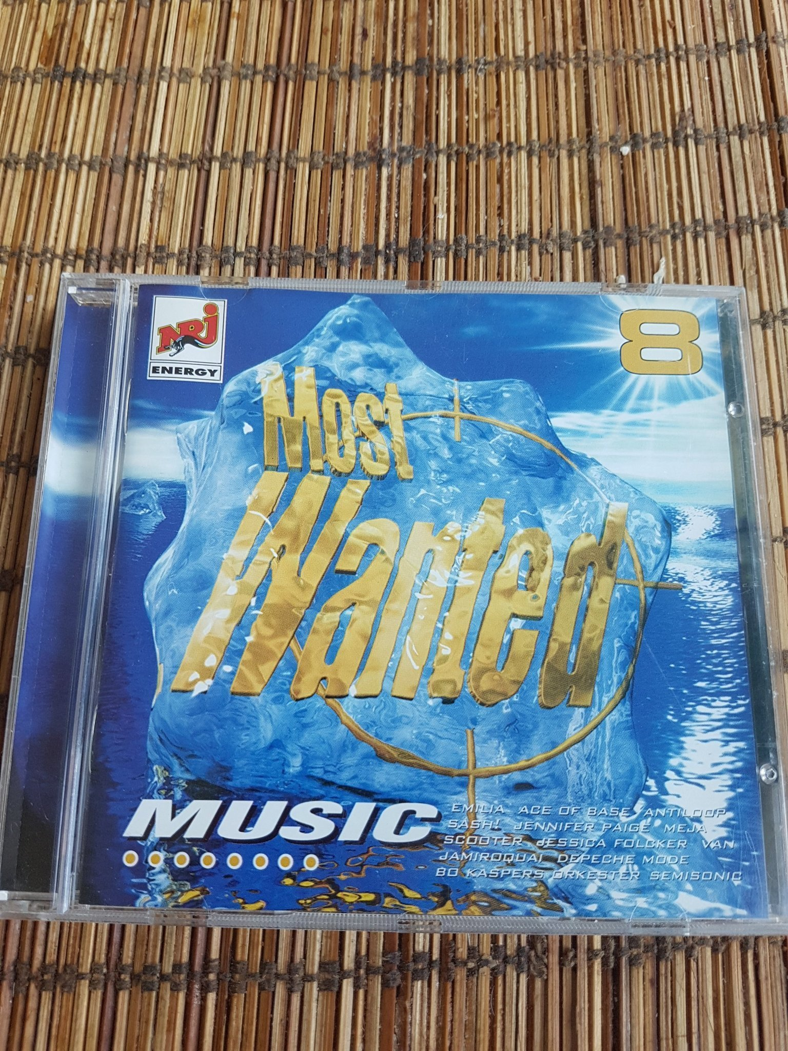 Cd Most wanted music 8