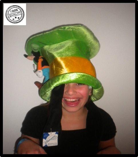 NY Konferencier hatt Disneyland -Farbror Långbe hög charm maskerad Nyskick 254fc19d61da5
