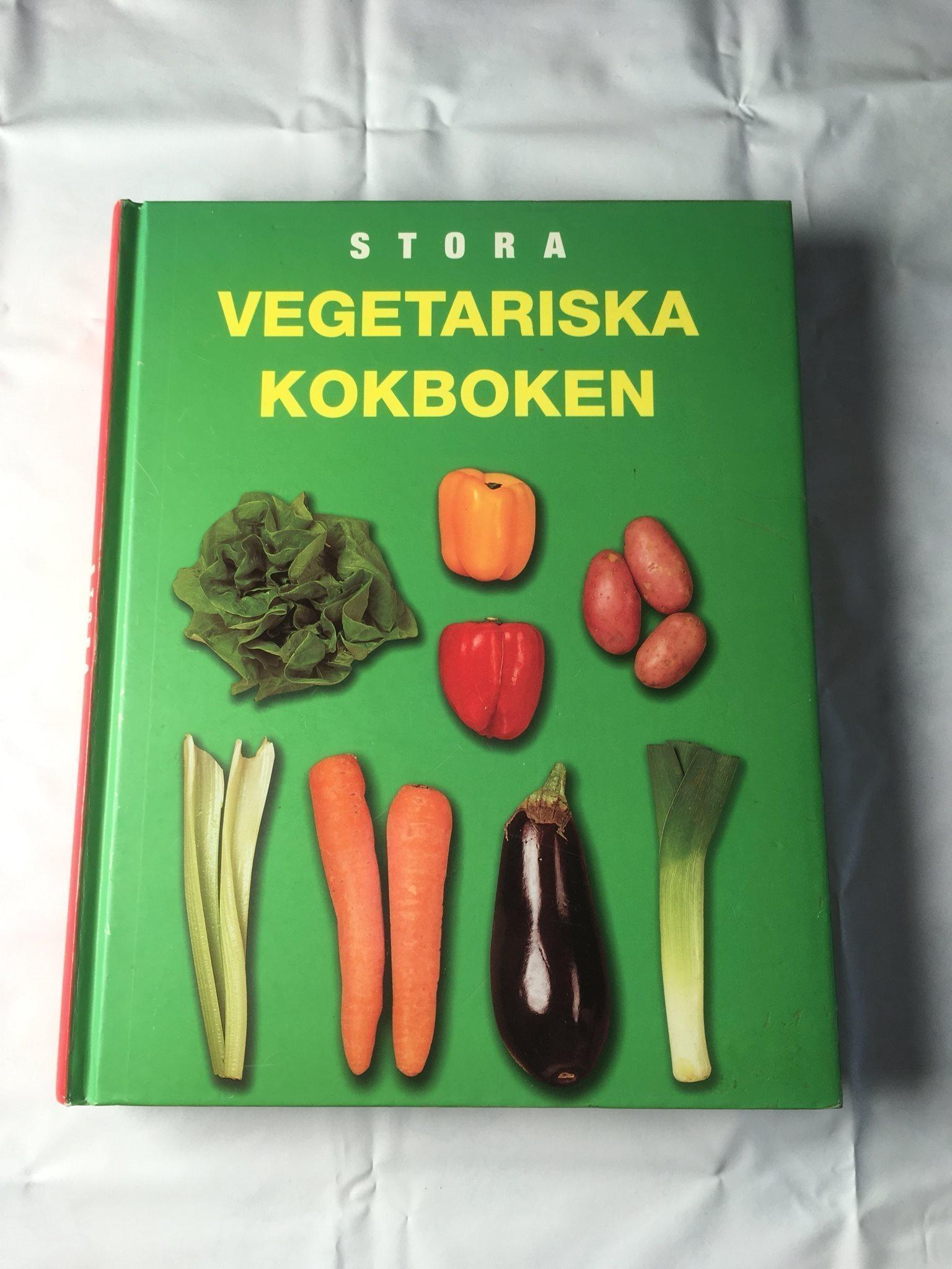 stora vegetariska kokboken