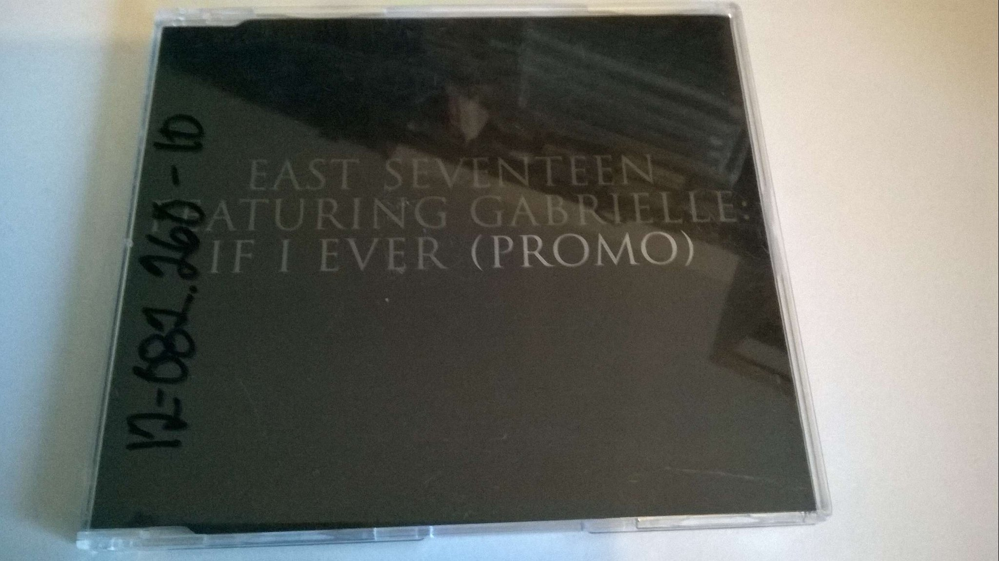 East Seventeen Featuring Gabrielle - If You Ever, Promo, CD