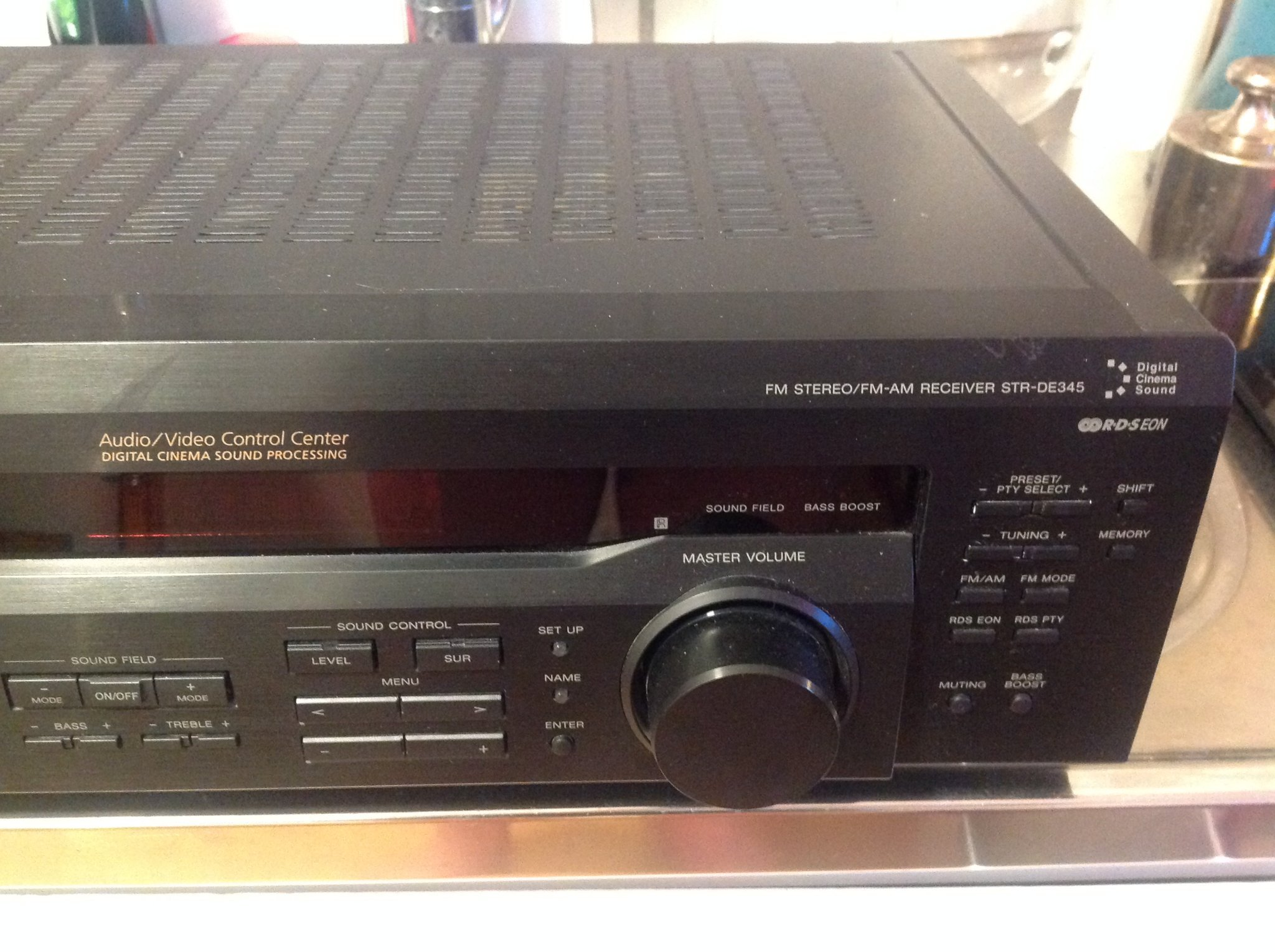 SONY STR-DE 345 Förstärkare RECEIVER med D.S.P Digital Sound Processor SUPERBRA!
