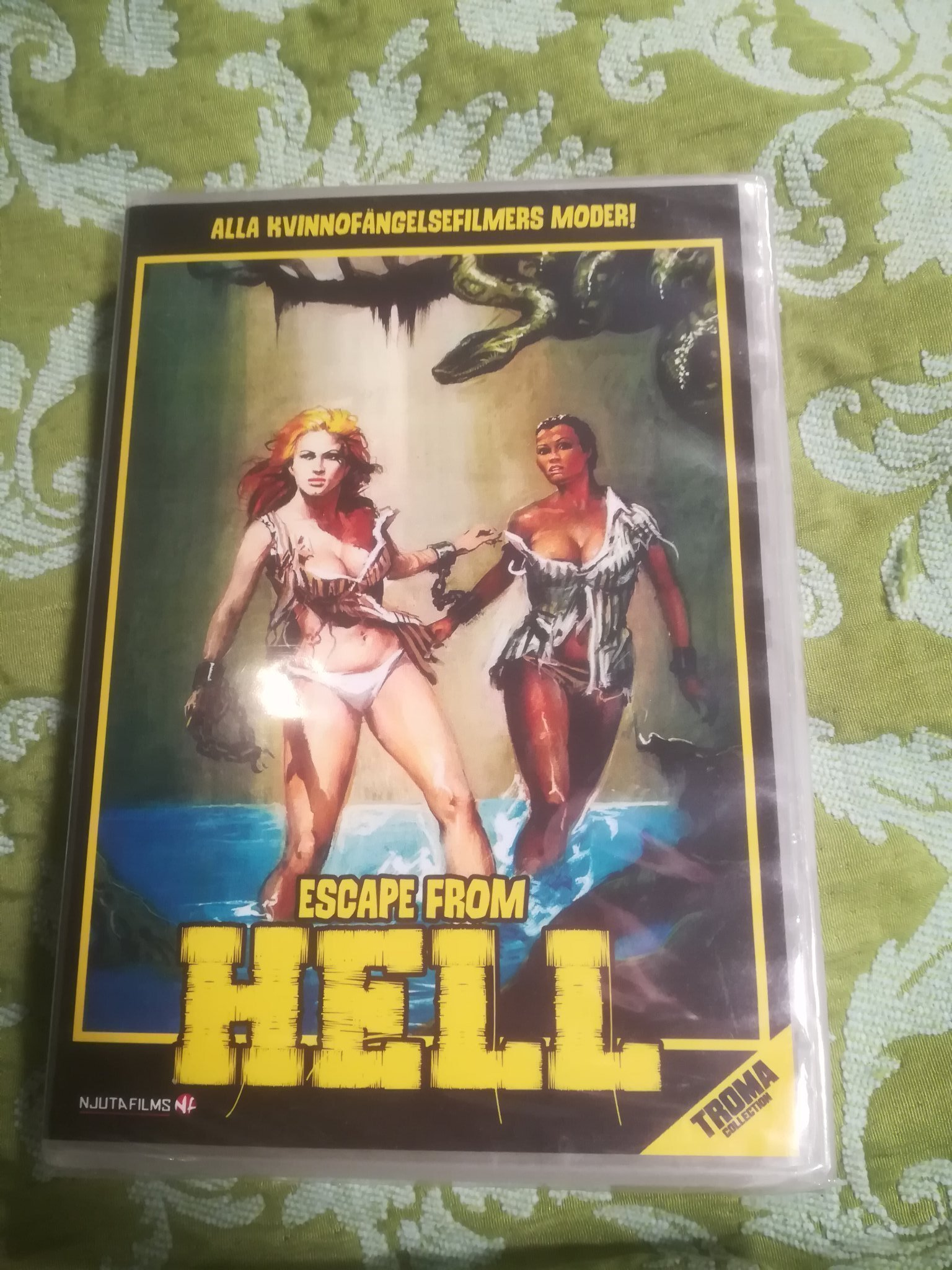 ESCAPE FROM HELL 1980 Mulargia Njuta  Utgått NY!