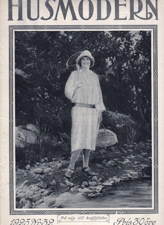 Husmodern 1925-32 Ella Hellgren Visby Stort Bildreportage