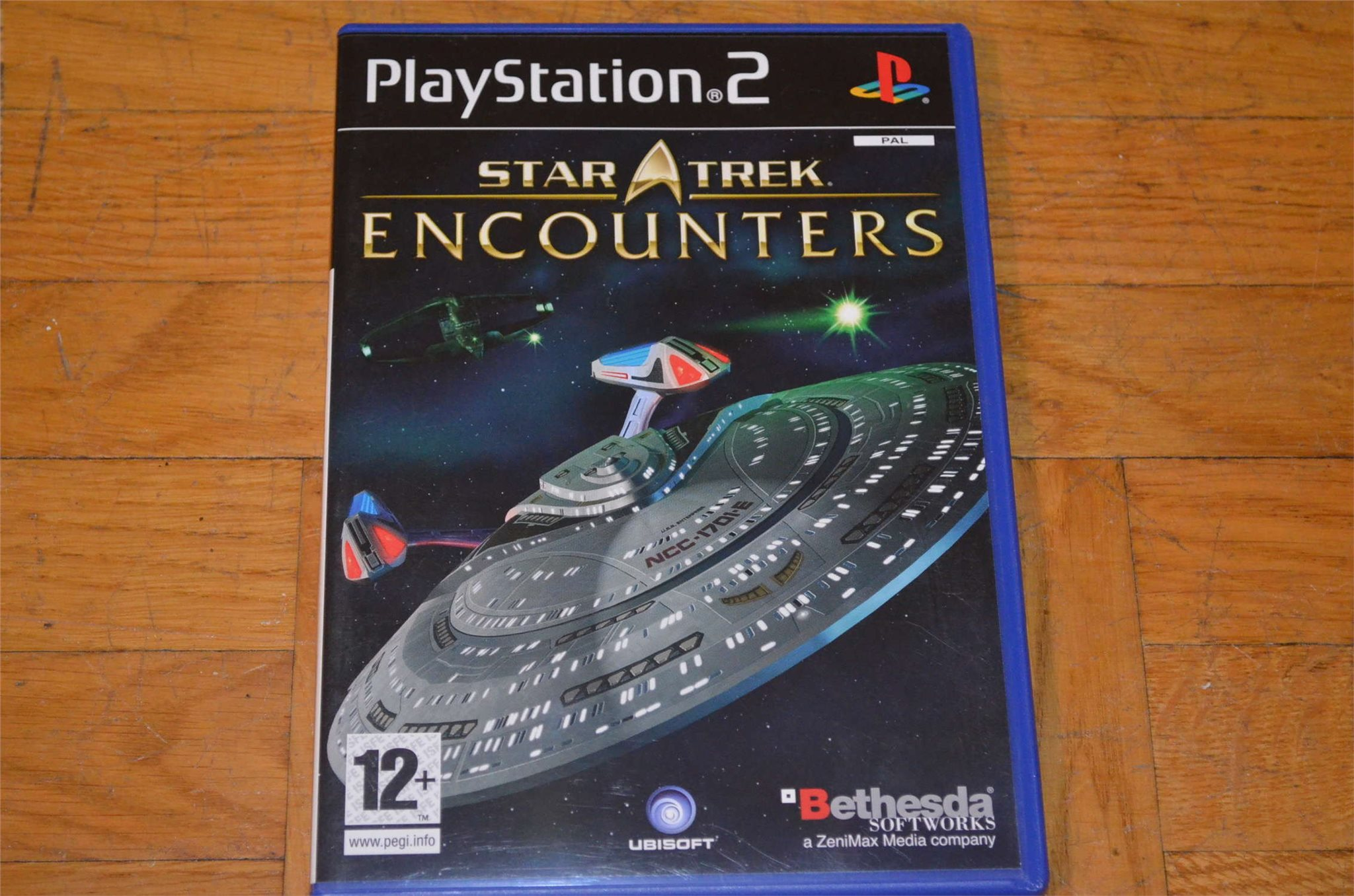 Star Trek Encounters Playstation 2 PS2
