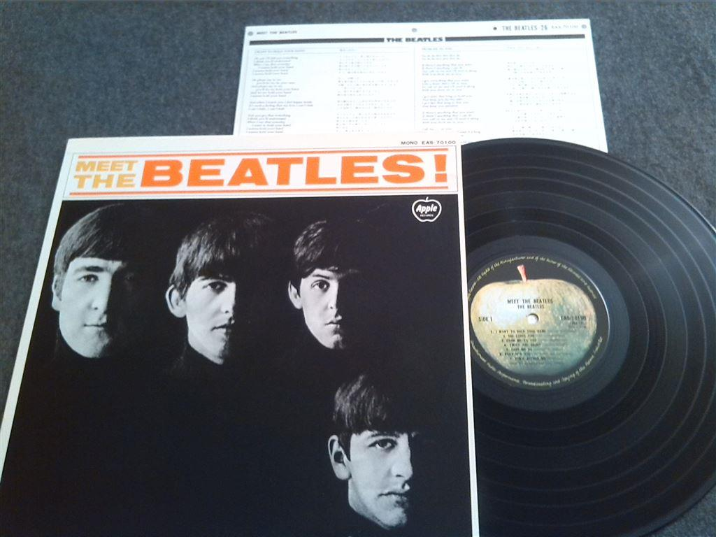 BEATLES - MEET THE BEATLES - Japanpress