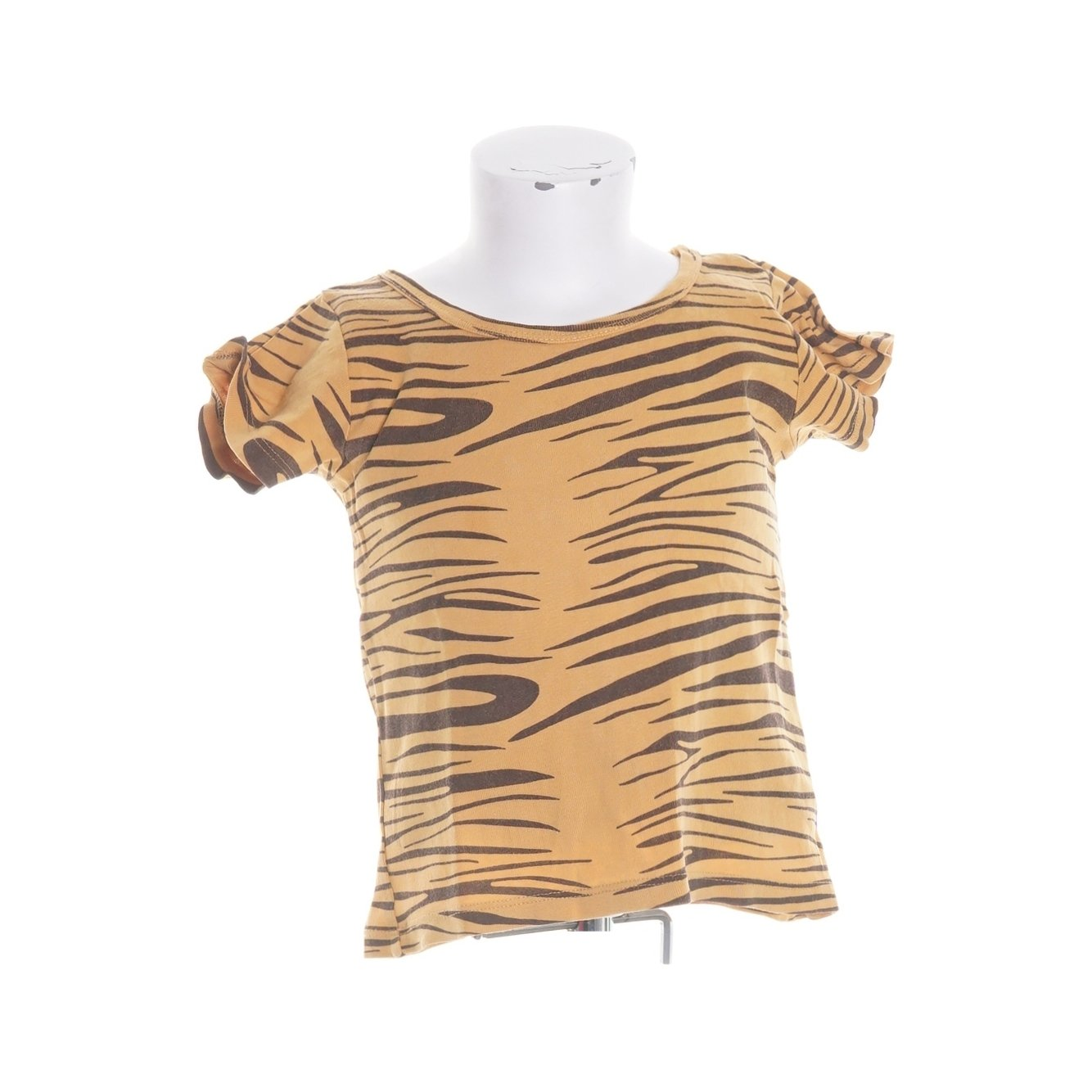 Mini Rodini, T-shirt, Strl: 104/110, Brun/Orange