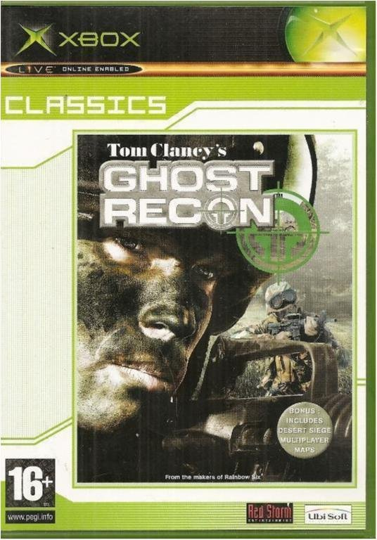 TOM CLANCY -GHOST RECON  ( X BOX SPEL)