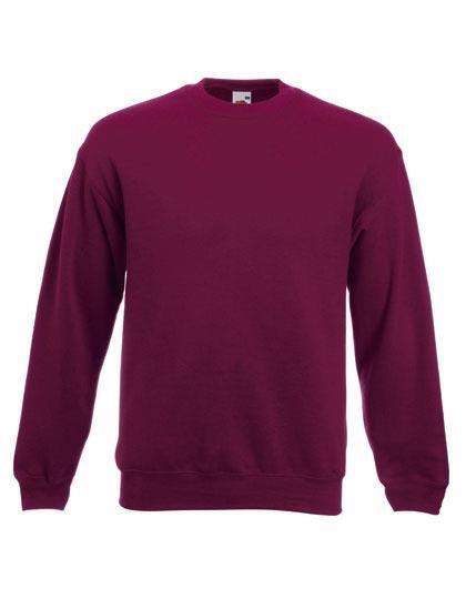 Sweatshirt F324NJ- vinröd, storlek L