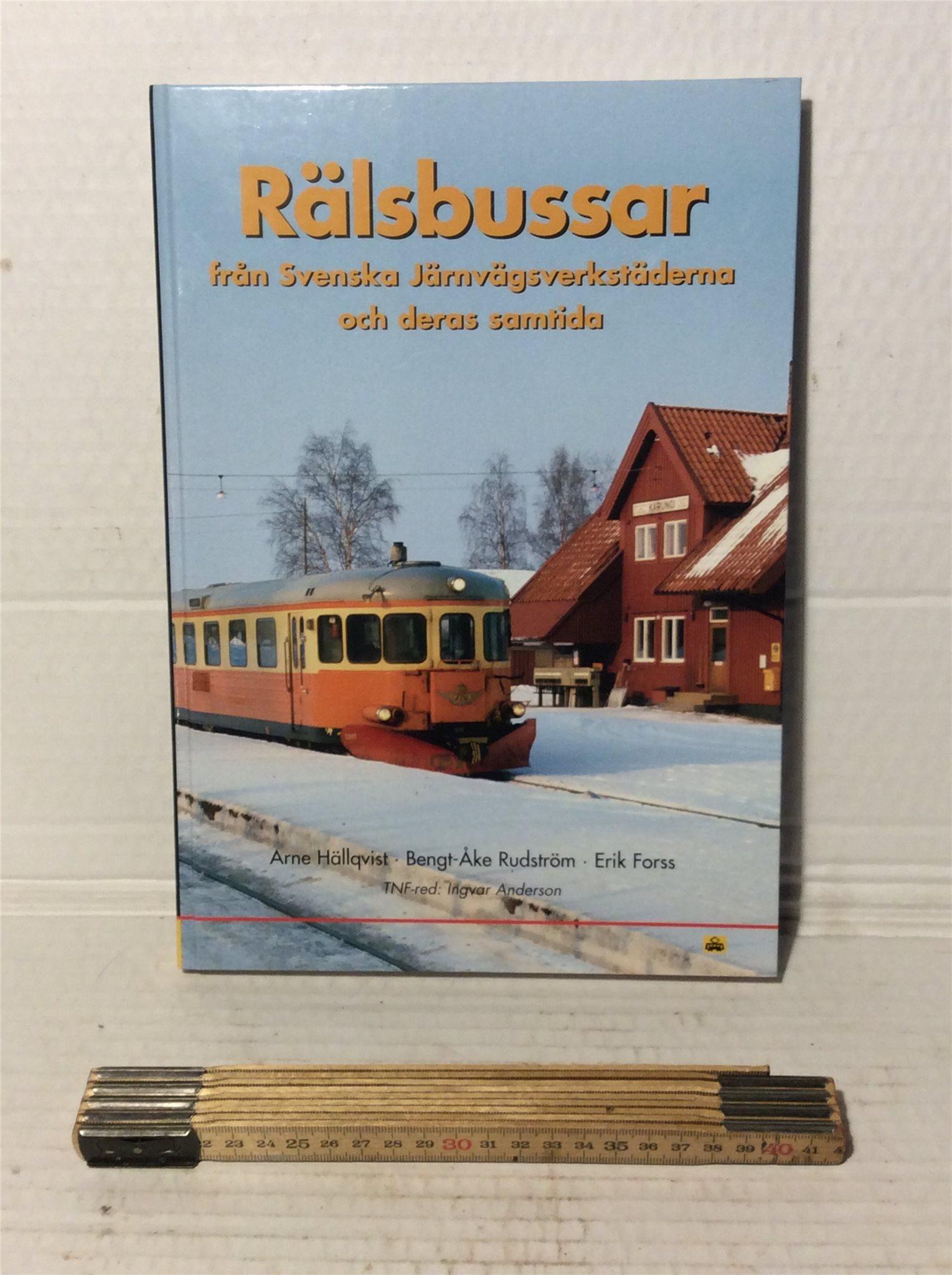 Rälsbussar från Svenska Järnvägsverkstäderna och deras samtidiga