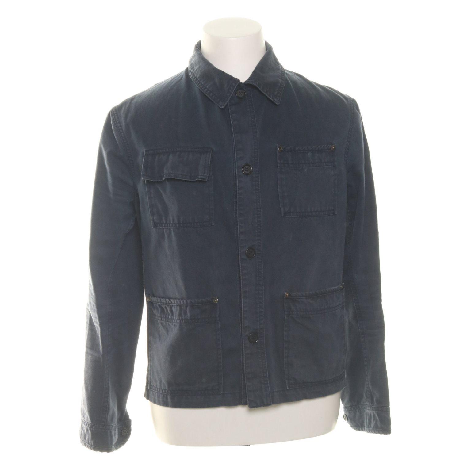 Acne Jeans, Skjorta, Strl: 50, Mörkblå