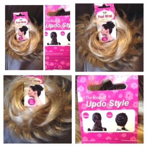 Hair Scrunchie Wrap Hairpiece Messy Bun Updo Ex 339167542 ᐈ Köp