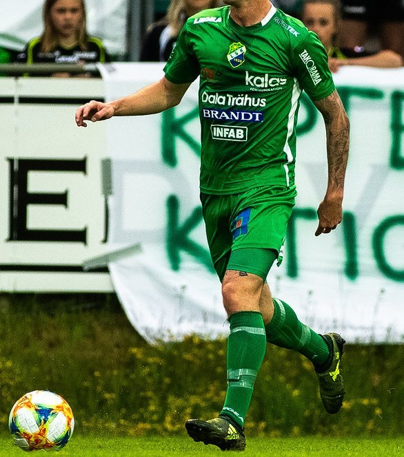 Ljungskile SK - Filip Karlins Matchtröja (nummer 2) 2019