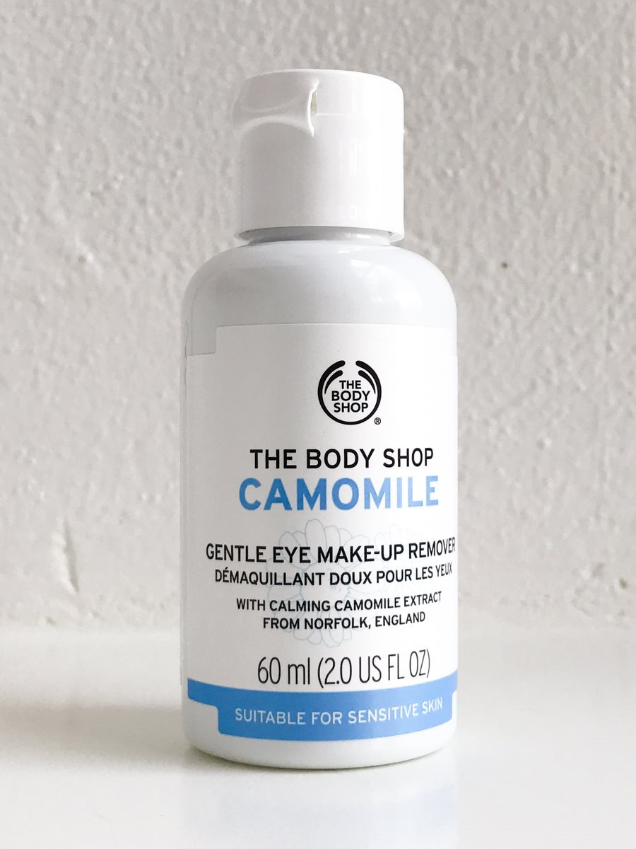 Camomile gentle eye makeup remover