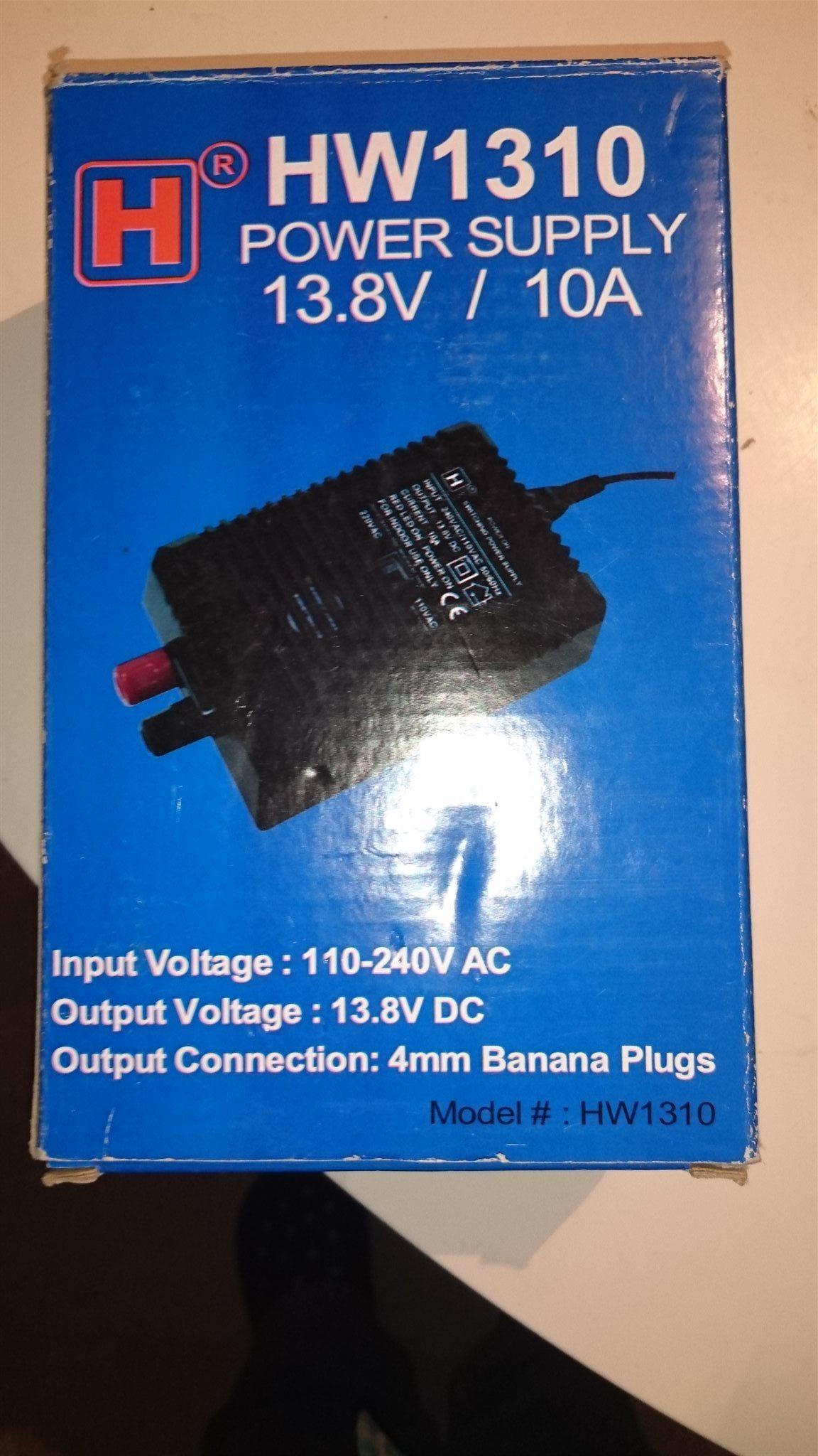 Ntaggregat 138v 10a P Radiostyrt Vrigt Power Supply