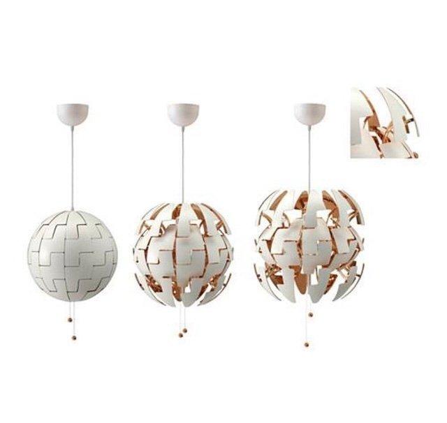 Ikea ps 2014 lampa koppar 35cm (409786814) ᐈ Köp på Tradera