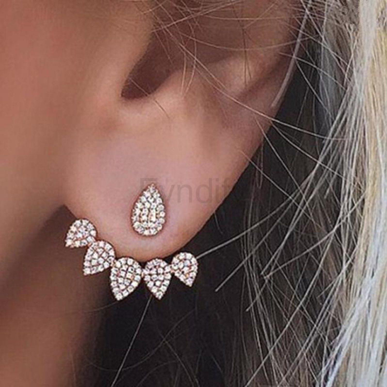 ear jacket örhängen