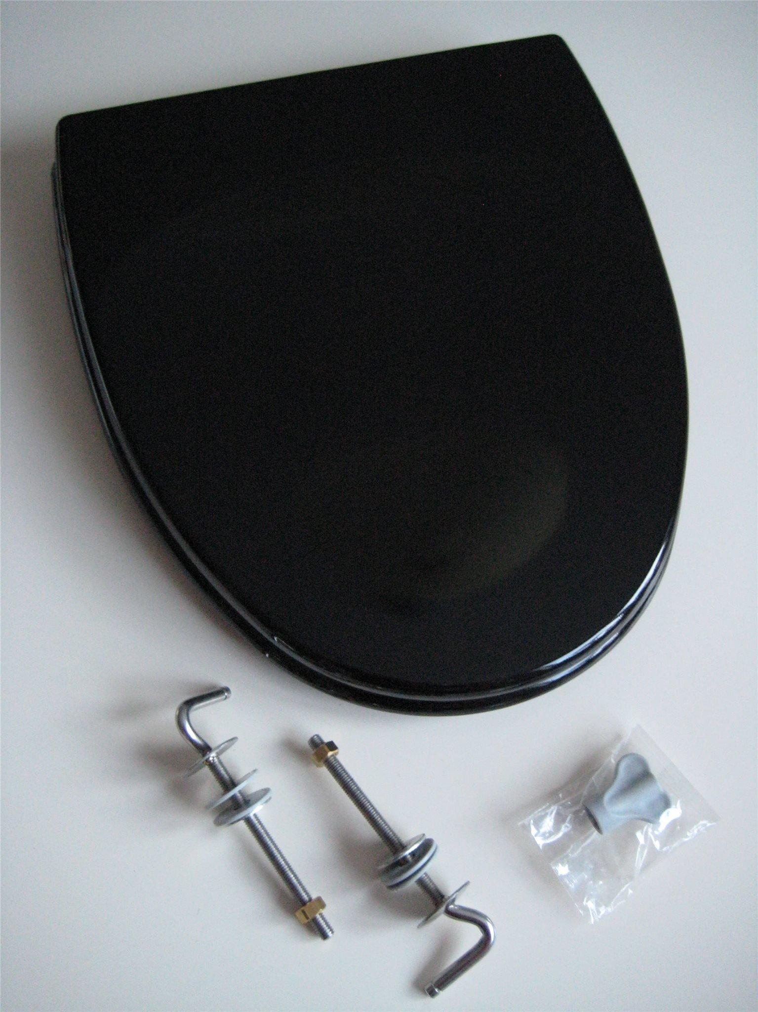 Nya Svart toalettsits / toalettlock till IFÖ CERA -.. (364542912) ᐈ RP-08