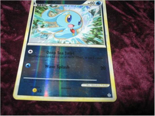 MANAPHY HP60 RARE FOILAT 3/95 (HS UNLEASHED)