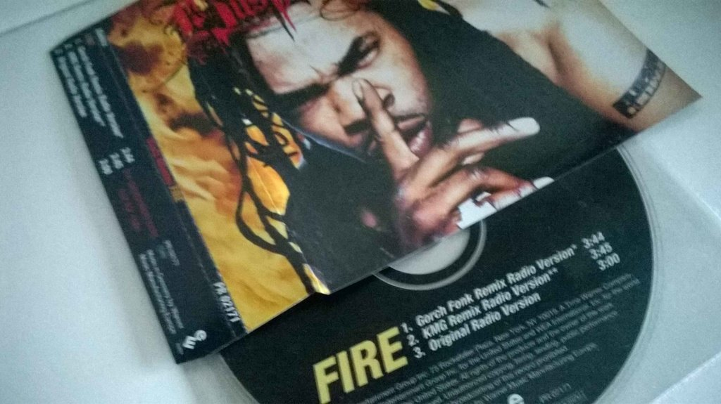 Busta Rhymes - Fire. CDs, promo