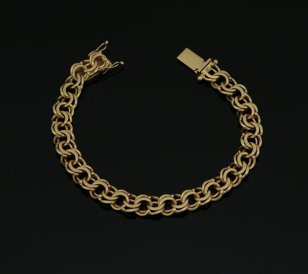 Tyngre Bismarck Armband 18K Guld (304144678) ᐈ OskmanDesignAB på ... a3e603a5c50e7
