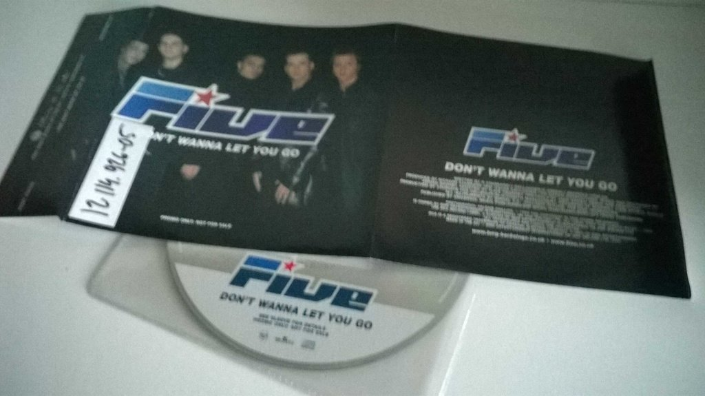 Five - Don`t wanna let you go, single CD