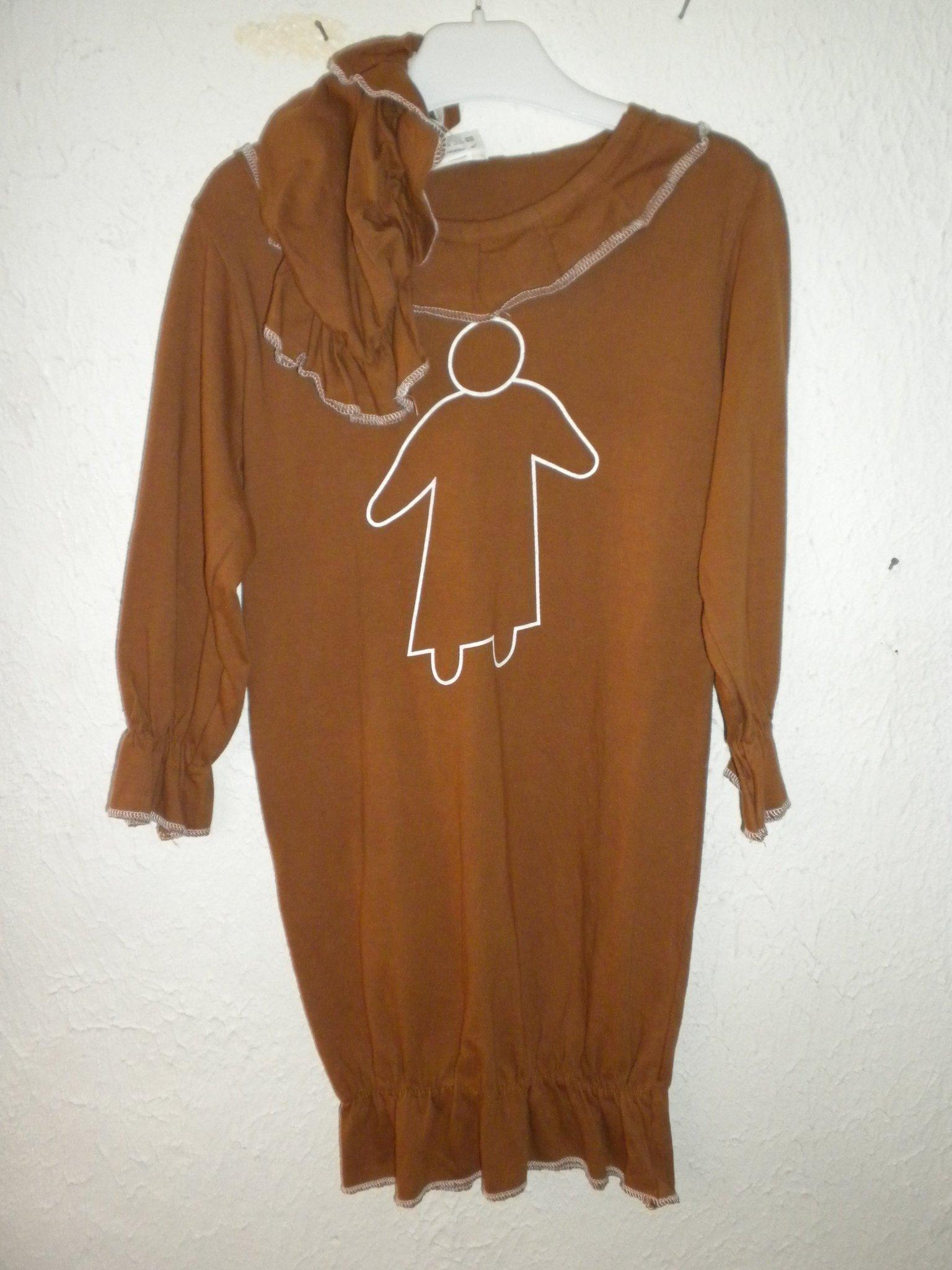 pepparkaksgumma klänning