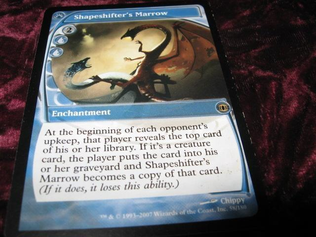 SHAPESHIFTER'S MARROW RARE(BLÅ FUTURE SIGHT)