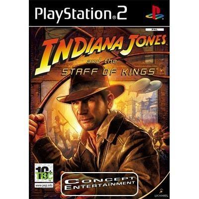 INDIANA JONES AND THE STAFF OF KINGS (Nytt) till Sony Playstation 2, PS2