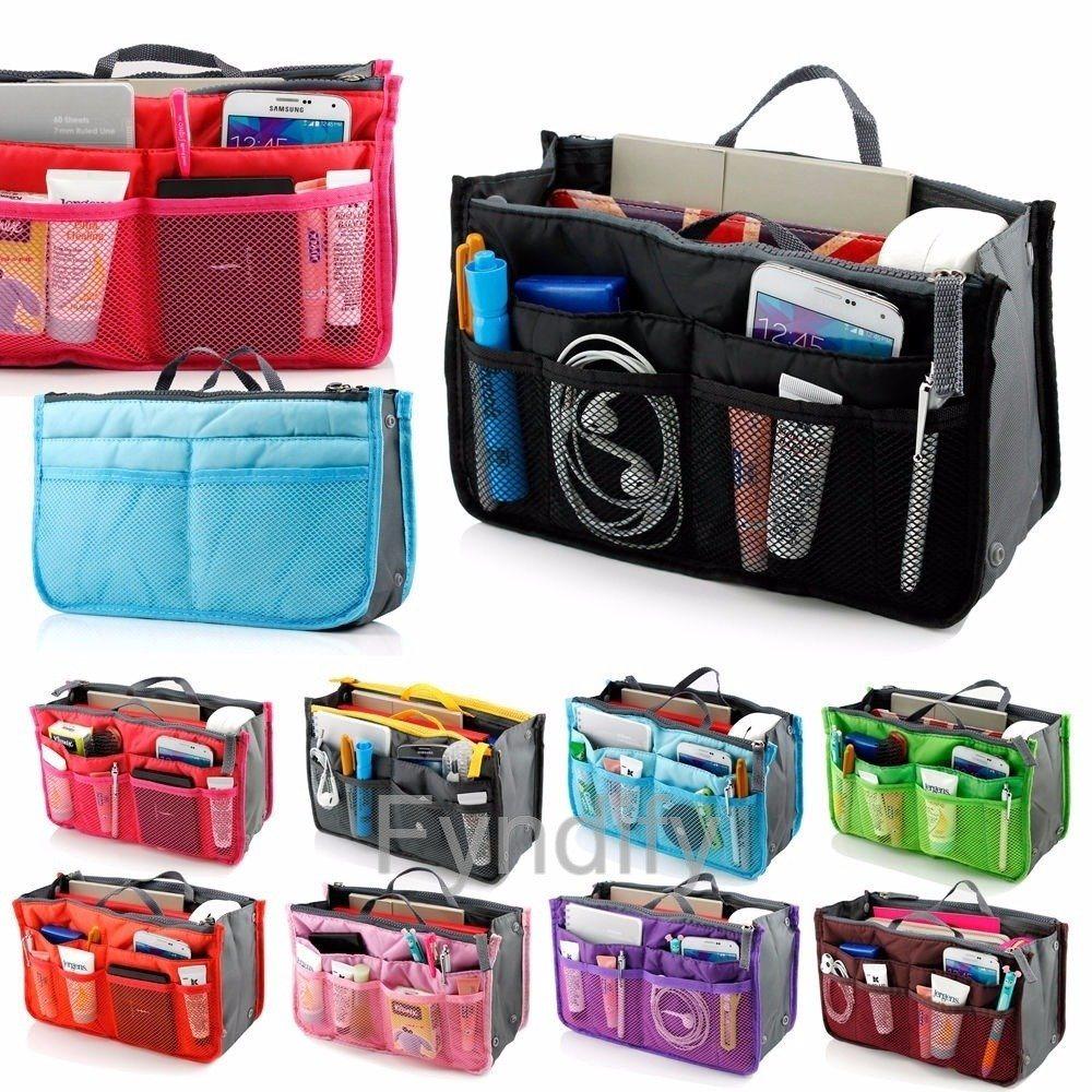 Multi function Handbag Purse Organizer Lila (284079069) ᐈ