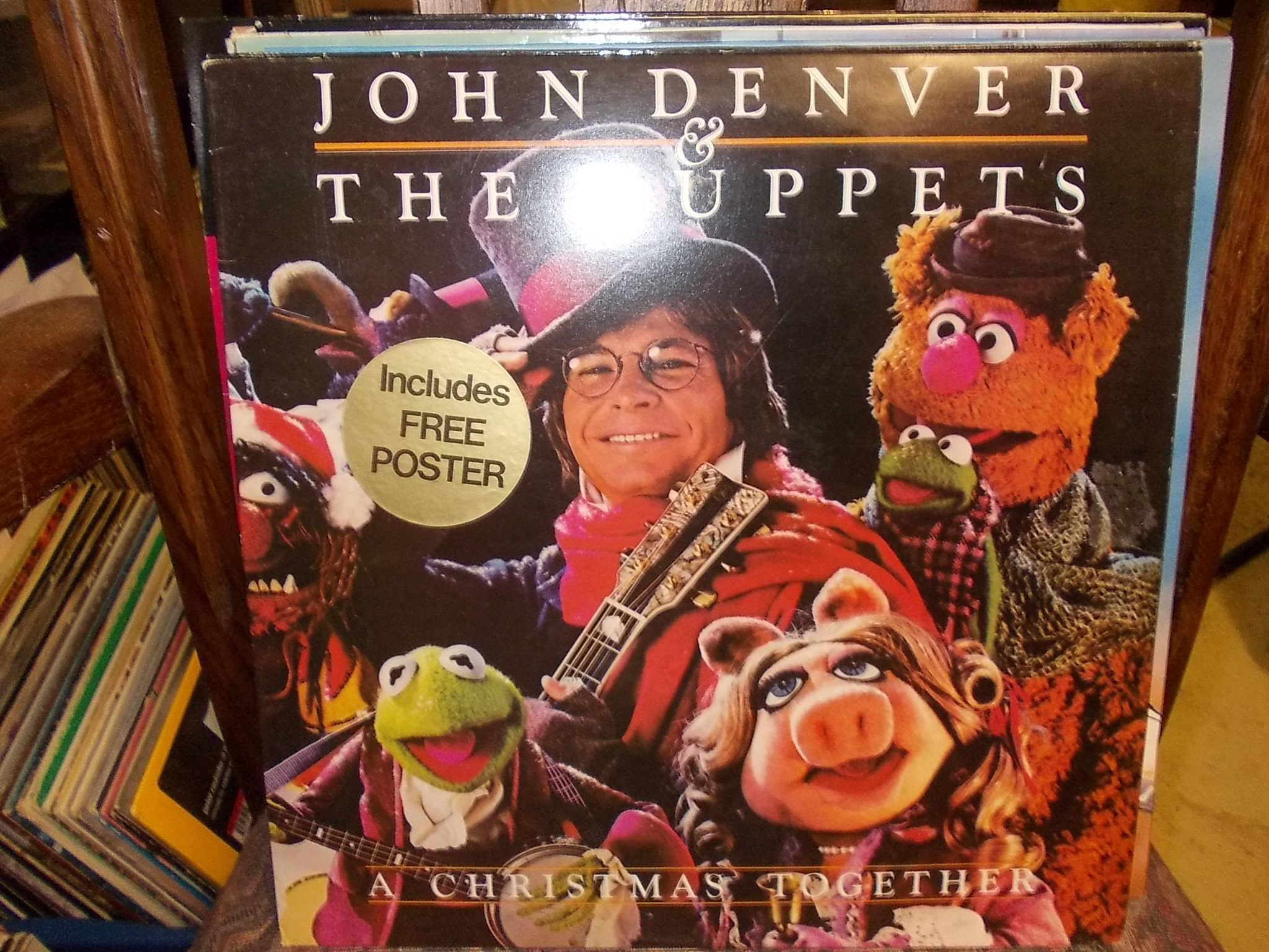 John Denver and the Muppets-AChristmas together (317822357) ᐈ Köp ...