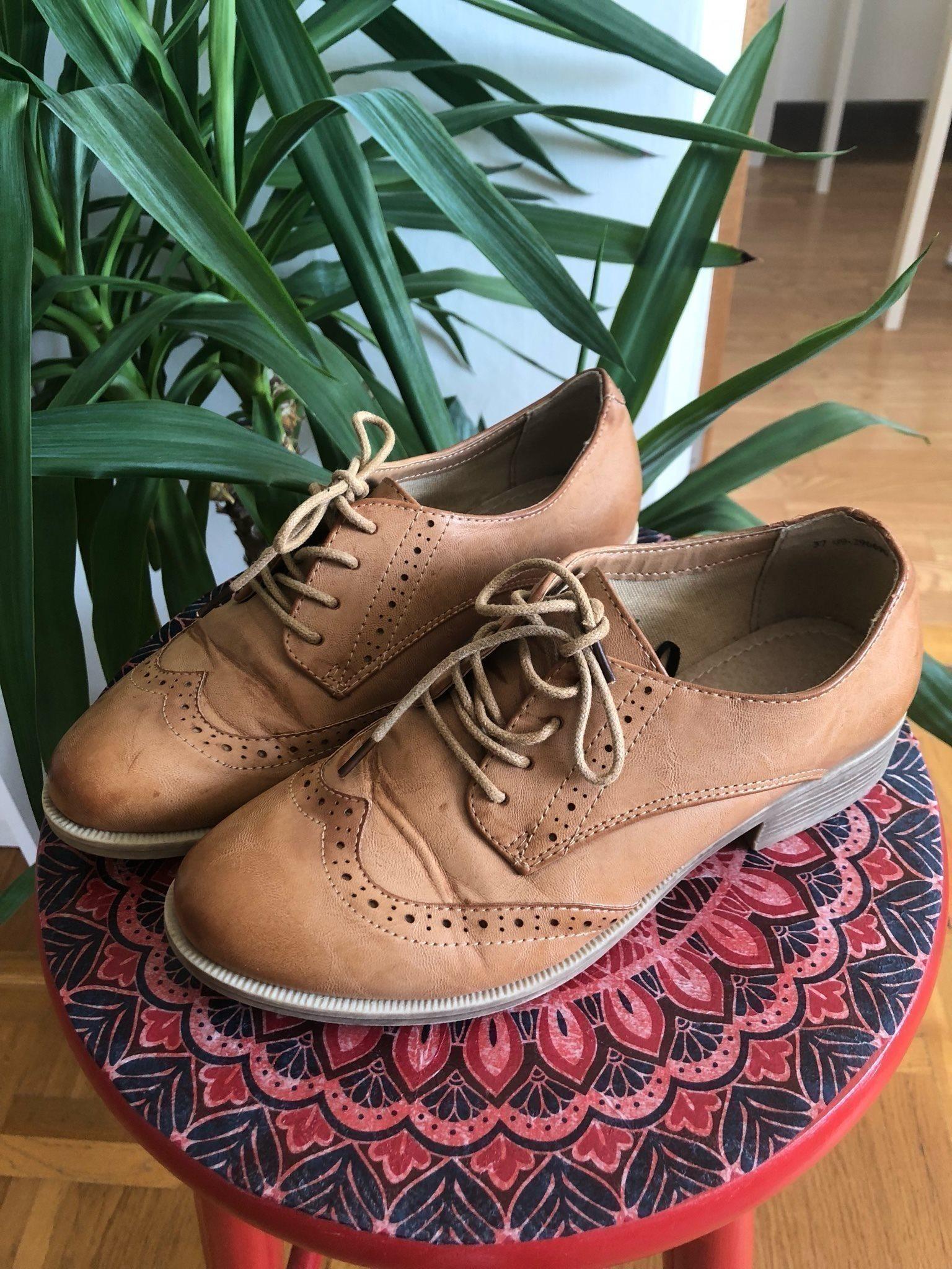 4bcee90a765 Vårskor oxford brouges skor bruna läderimitatio.. (343573439) ᐈ Köp ...