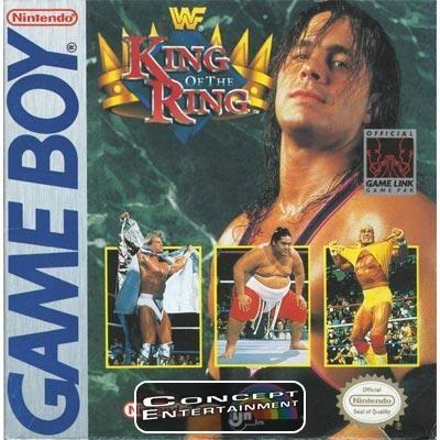 WWF KING OF THE RING till Nintendo Game Boy