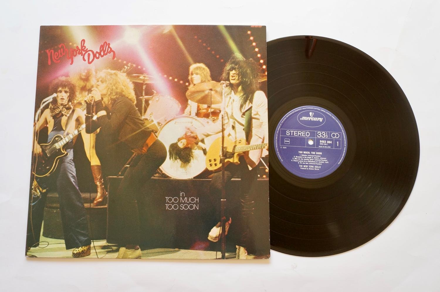 ** New York Dolls ?– Too Much Too Soon **