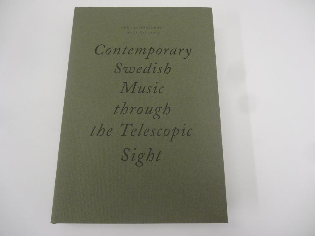 Contemporary Swedish music through the telescopic sight