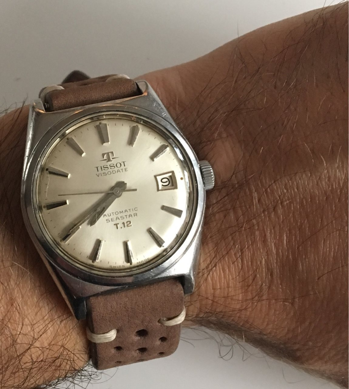7c38061dd A bit confused about this 1960s Tissot Seastar T.12
